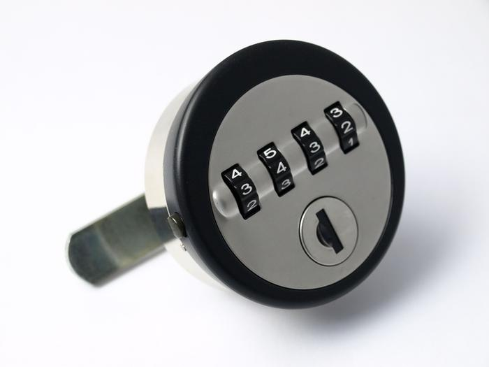 Four-Wheel Combination Lock